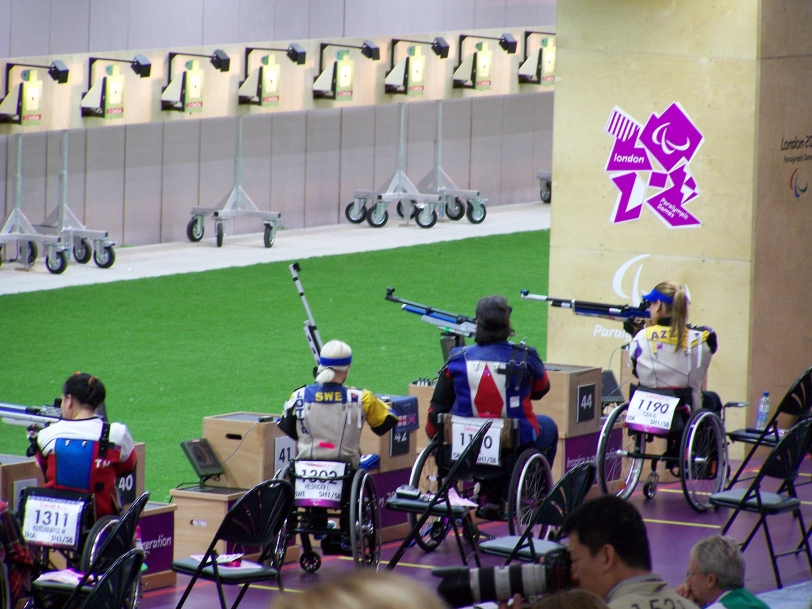 Paralympics Rifle